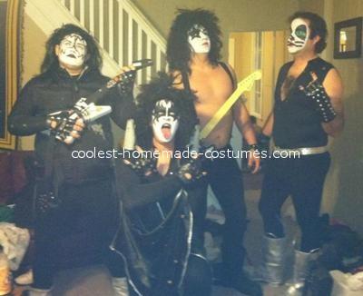 disfraces halloween caseros grupo kiss