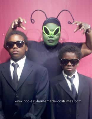 disfraces halloween caseros grupo men in black