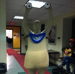 Disfraces Halloween caseros originales monstruo