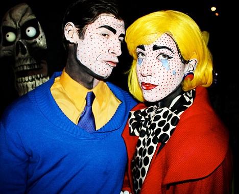 disfraces halloween caseros originales pop art