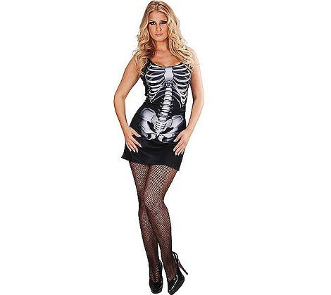disfraces halloween chica esqueleto