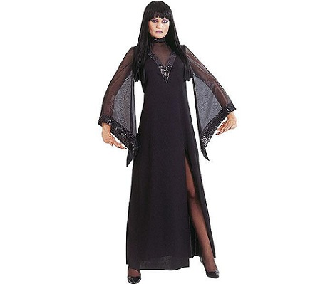 disfraces halloween chica morticia