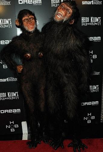 disfraces Halloween famosos heidi klum