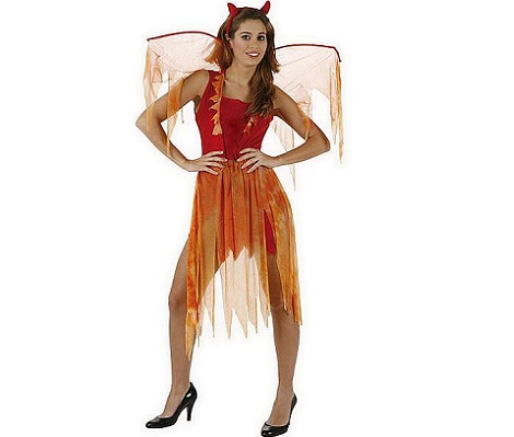 disfraces halloween mujer baratos hada diabolica