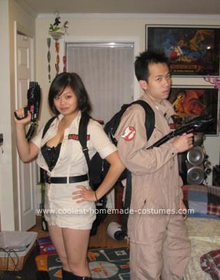 disfraces halloween originales parejas cazafantasmas