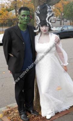 disfraces halloween originales parejas frankenstein