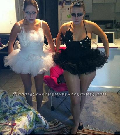 disfraces halloween parejas caseros cisne negro