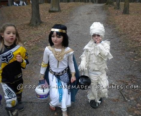 disfraces halloween parejas caseros cleopatra momia