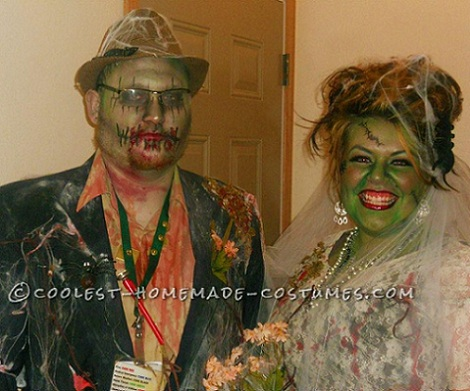 disfraces halloween parejas caseros novios muertos