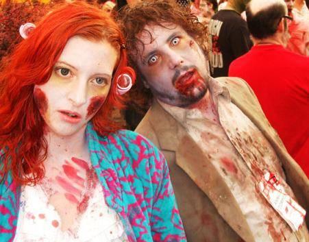 disfraces halloween parejas zombies 2