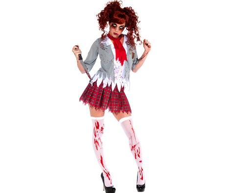 disfraces Halloween sexys mujer colegiala