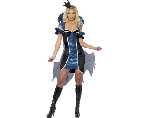 disfraces sexys halloween mujer reina oscura