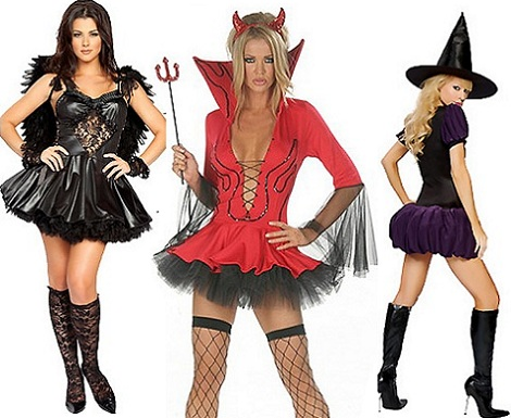 disfraces halloween sexys mujer