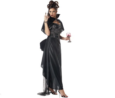 disfraces mujer originales vampira glamurosa