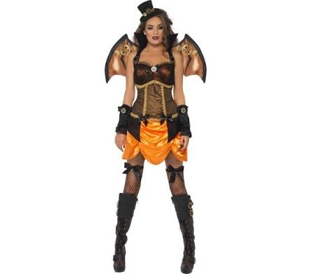 disfraces sexys halloween murciélago