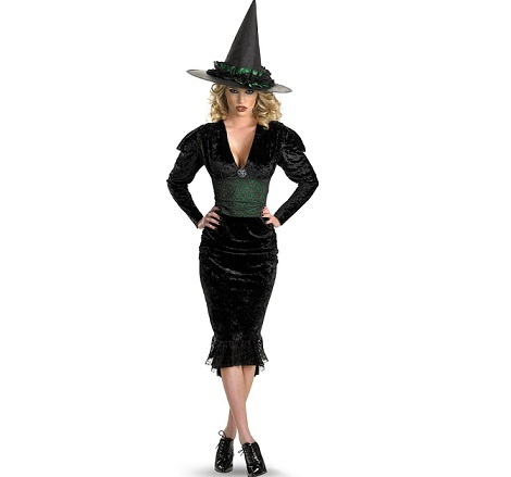 disfraz bruja halloween mala guapa