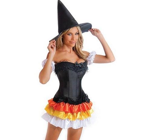 disfraz bruja halloween sexy