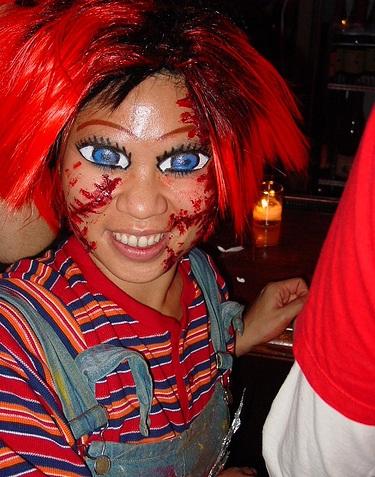 disfraz halloween casero chucky