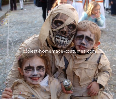 disfraz halloween casero momias