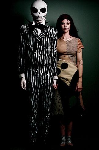 disfraz halloween casero pesadilla