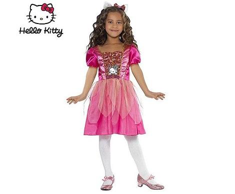 disfraz hello kitty princesa