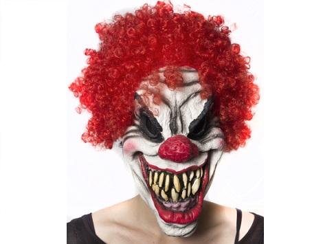 máscaras halloween payaso