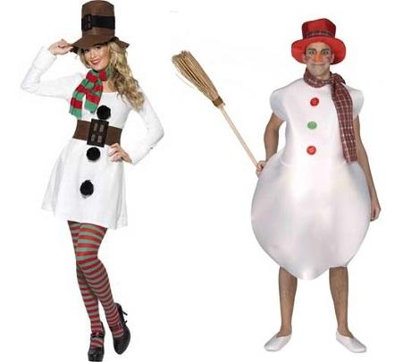 disfraces navidad muñeco nieve