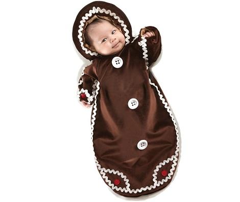 disfraces para bebes galleta