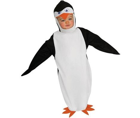 disfraces para bebes pingüino