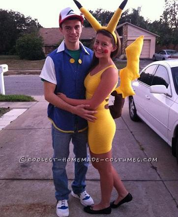 los mejores disfraces caseros pikachu