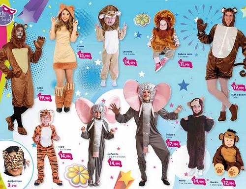 Catálogo de disfraces de Toy Planet 2014