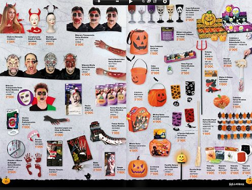 accesorios juguettos halloween 2013