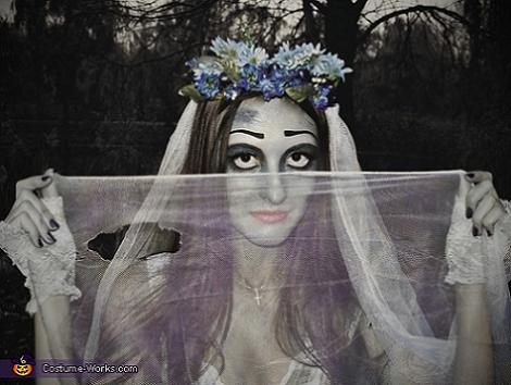 Disfraz de novia Cadáver