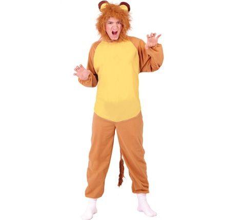 disfraz de leon