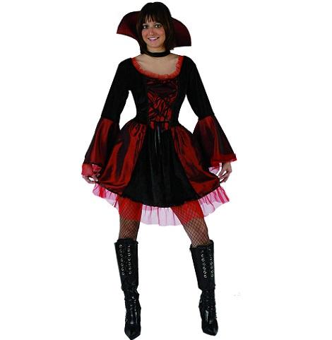 disfraz de vampiresa corto