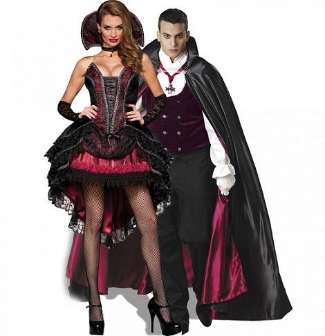 disfraz vampiro y vampiresa baratos