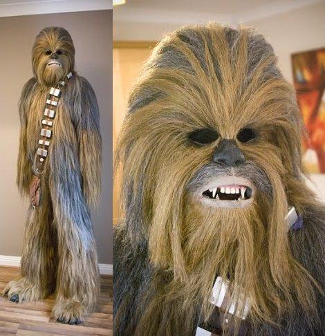 disfraz casero de chewbacca guerra de las galaxias