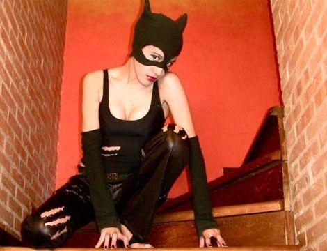 ideas para hacer un disfraz casero de catwoman