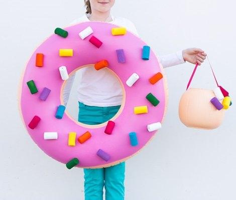 cómo hacer un disfraz casero de donut