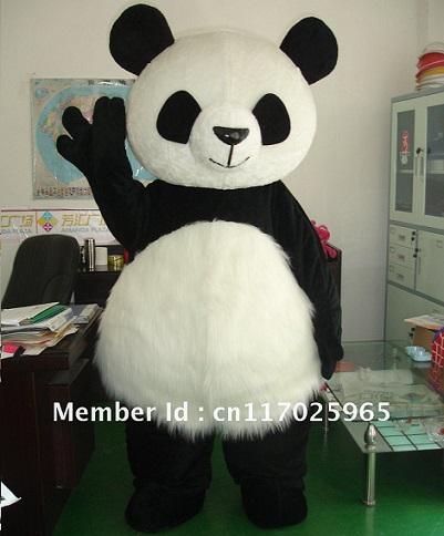disfraz de oso panda casero