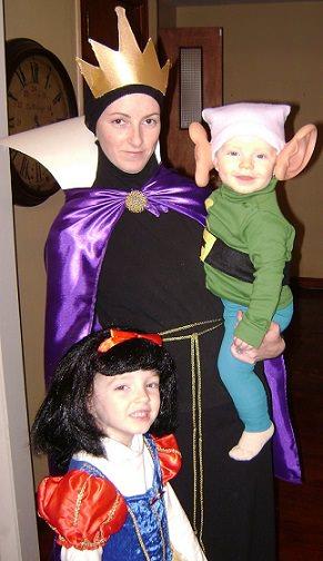 disfraz de madrastra de blancanieves casero