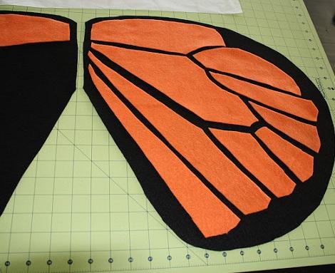como hacer un disfraz de mariposa casero