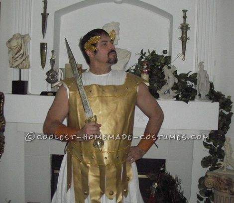 disfraz de soldado romano casero