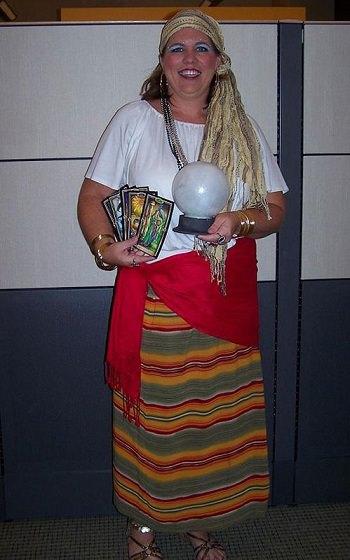disfraz casero de zingara
