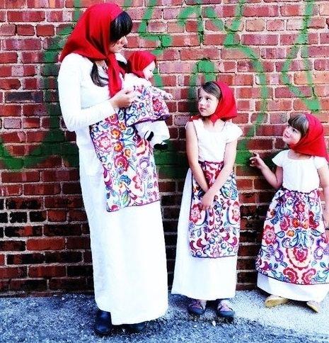 disfraz casero de muñecas rusas para grupos