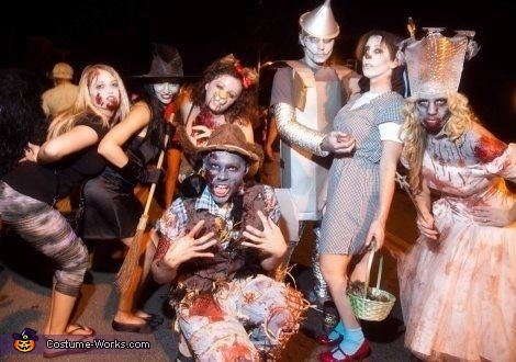 disfraces caseros para grupos halloween 2013 mago oz