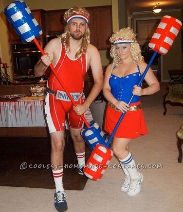 trajes caseros para parejas halloween 2013