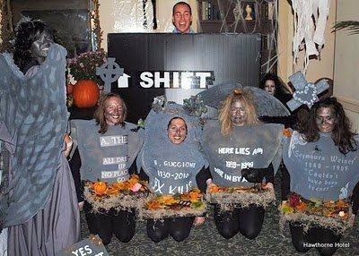 disfraz de cementerio halloween 2013