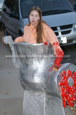 disfraz de halloween casero de picadora