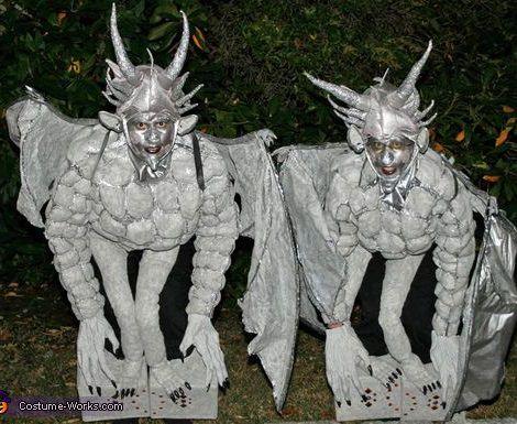 disfraz de gargolas halloween 2013